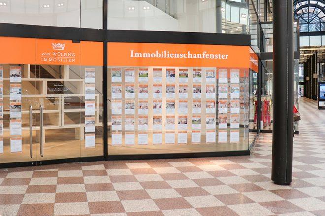 von Wuelfing Immobilien-Galerie Luise Hannover-Hannover-Schaufenster-Angebote-kaufen-mieten-verkaufen-vermieten-immobilienmakler-angebote